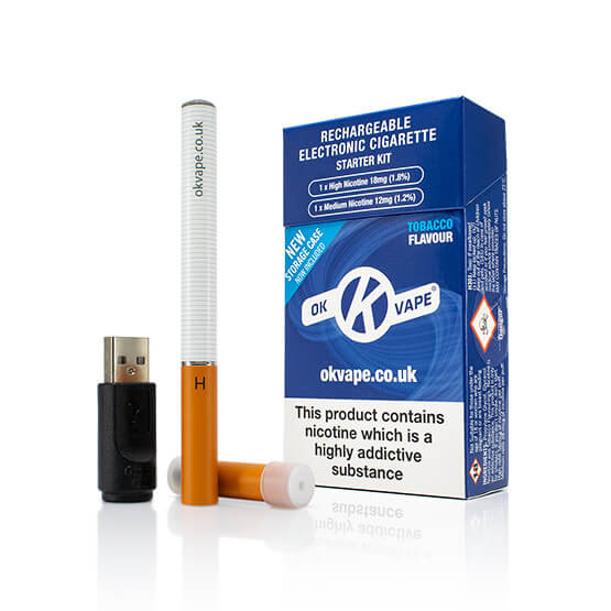 OK Vape - Best cigalike e cig starter kit