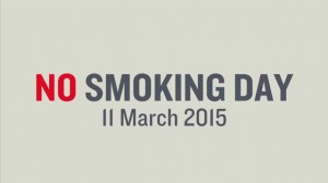 No Smoking Day 11th March 2015 switch to best electronic cigarette OK E-Cigs