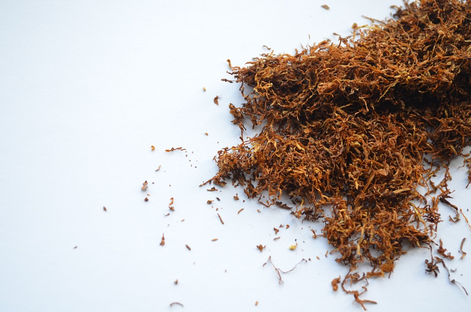 Some loose tobacco on a table. Tobacco companies should pay out for damage caused by products, charity states
