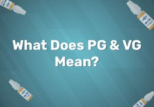 What Does PG & VG Mean