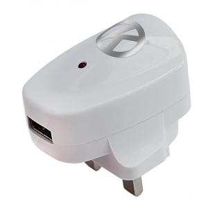 E-Cigarette USB Mains Adapter/Charger with OK E-Cig branding