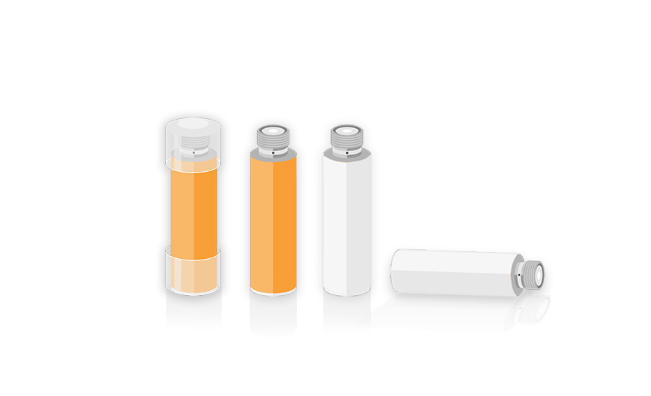 Cartoon image of OK E Cig refills. How long should a cigalike cartomizer refill last?