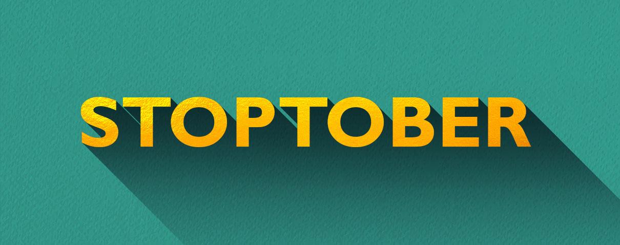 Stoptober header image