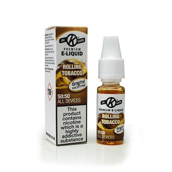 Rolling Tobacco e liquid