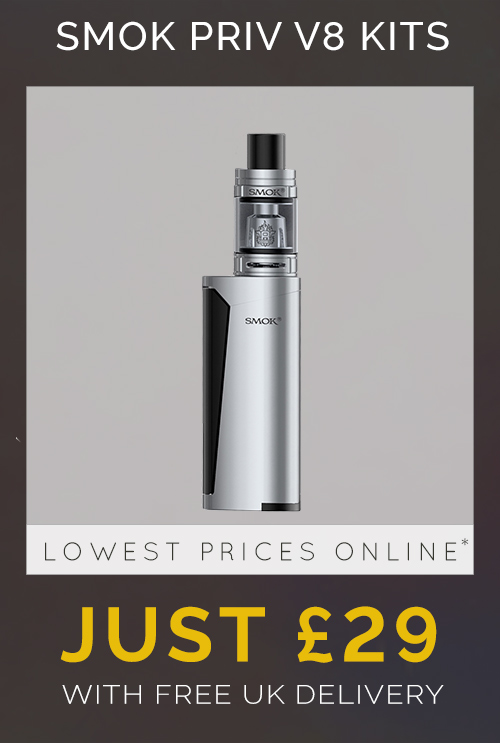 Black Friday Deal Smok Priv V8 Kit Just £29 with free uk delivery