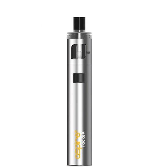 Silver Aspire PockeX vape kit