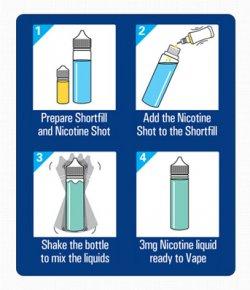 Academy of Vape - Calm   50ml Short Fill E-Liquid   OK Vape