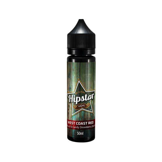 Hipstar Vape Shortfill - West Coast Red