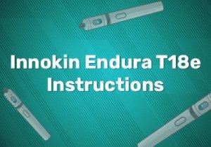 Innokin Endura T18e Instructions