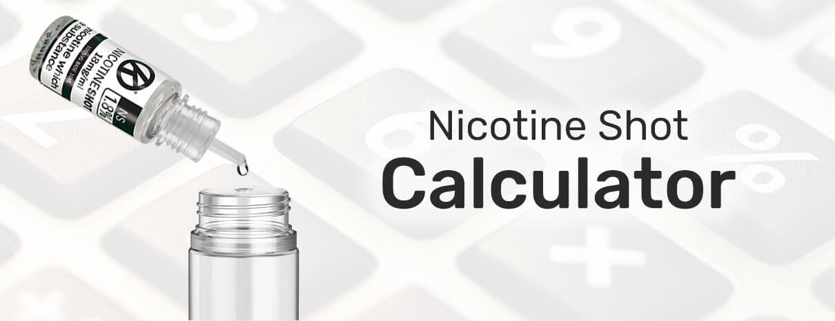 nicotine shot calculator blog header image