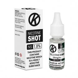 Nicotine Shots calculator - nic shot 18mg