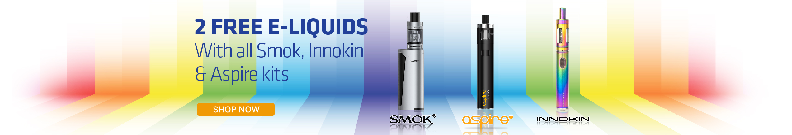 2 free e-liquids slider