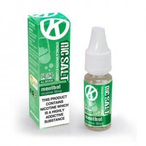 OK NicSalt Menthol - Nicotine Salt E-Liquid