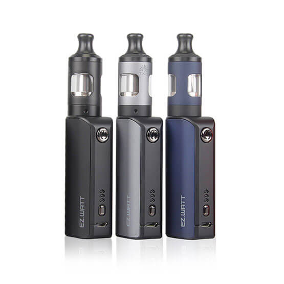 Innokin EZ Watt Kit Images (Black, Blue & Grey)