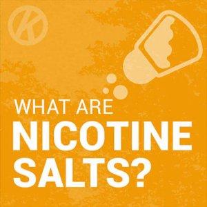 What are nicotine salts/NicSalts - Blog Header Image
