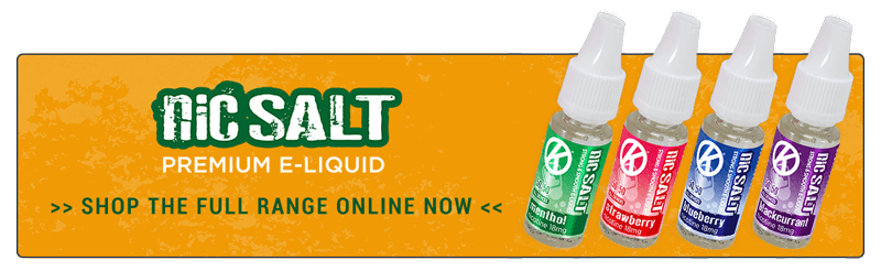 Nicotine Salts - OK NicSalt E-liquids - Shop the full range now