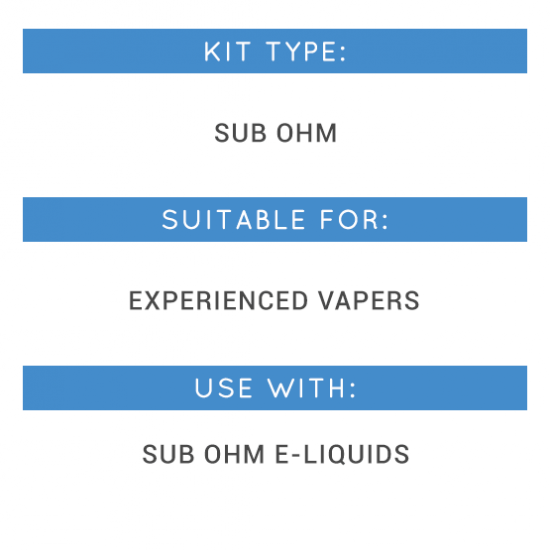Smok Priv V8 Kit Types