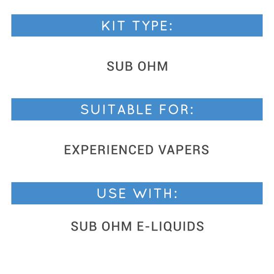 Smok Priv V8 Kit Types