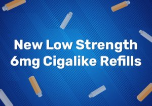 New Low Strength 6mg Cigalike Refills