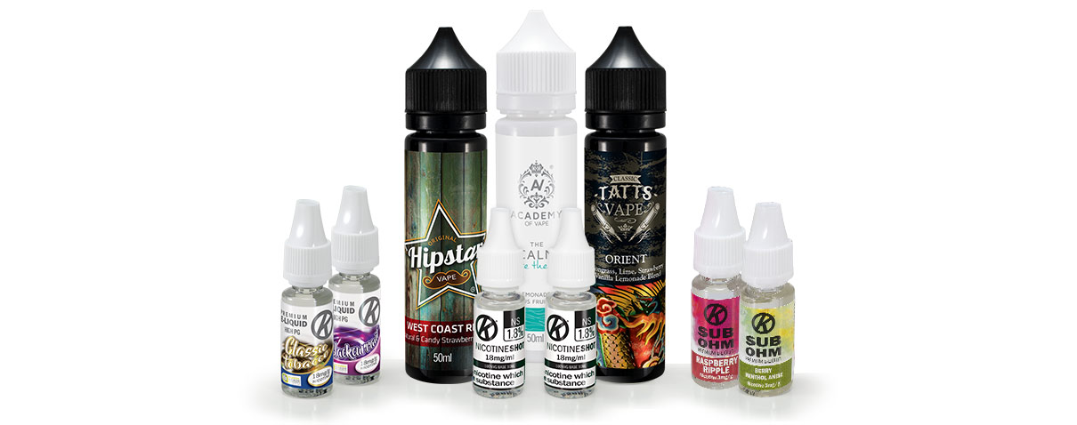 How to choose an e-liquid - Blog Header Image