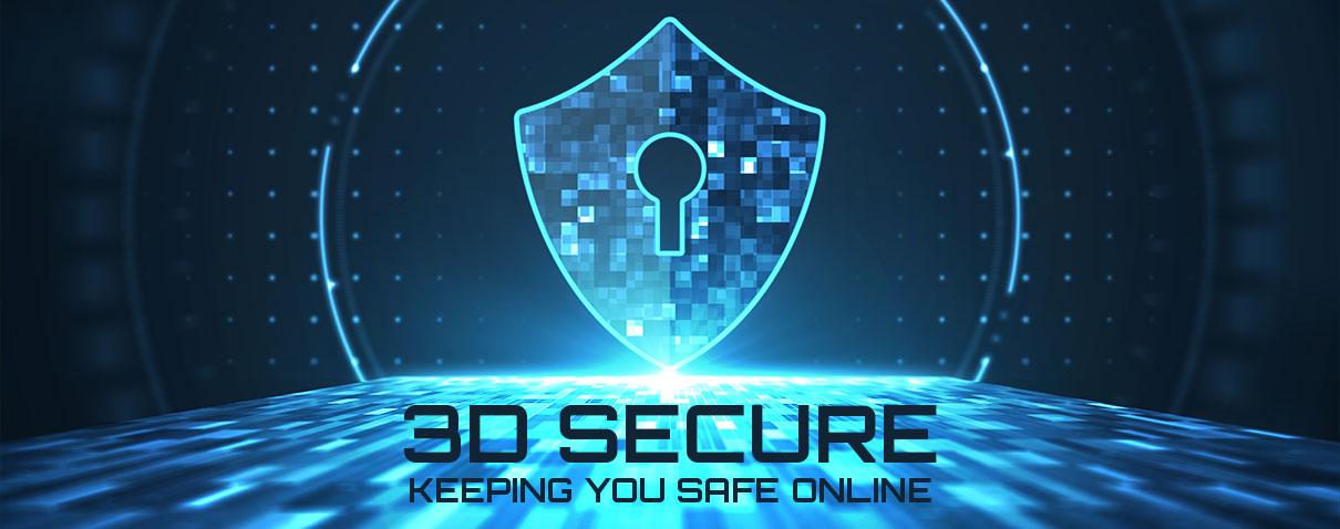 3D secure, keeping your safe online header