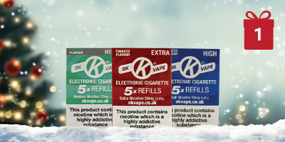 Win a 13 x Refill Multipack - 12 Days of Christmas header