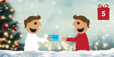 Recommend a friend Christmas offer header
