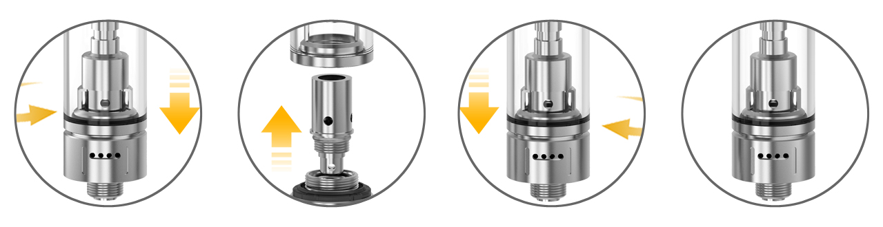 Changing coil on Aspire K Lite