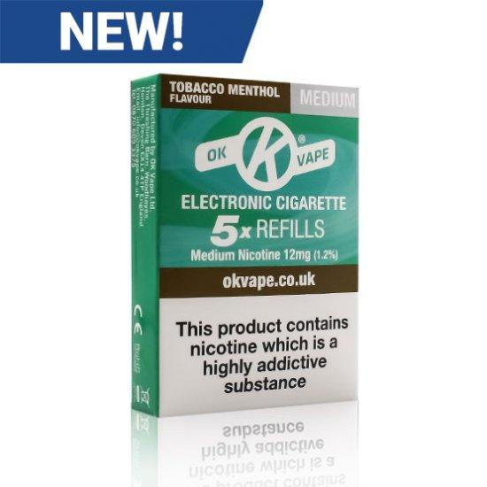 Tobacco Menthol - Medium - Right - New