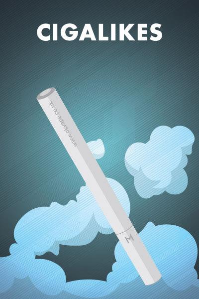 Cigalike E-Cigarettes