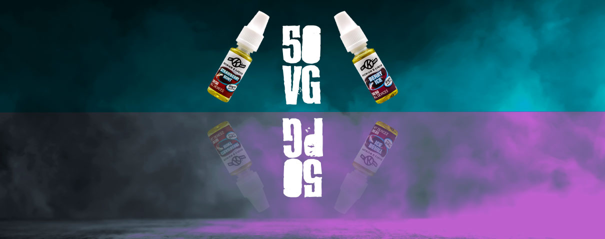 What is 50/50 e liquid? Blog header image