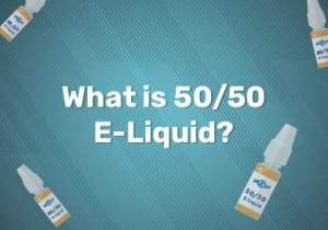 50/50 vape juice meaning