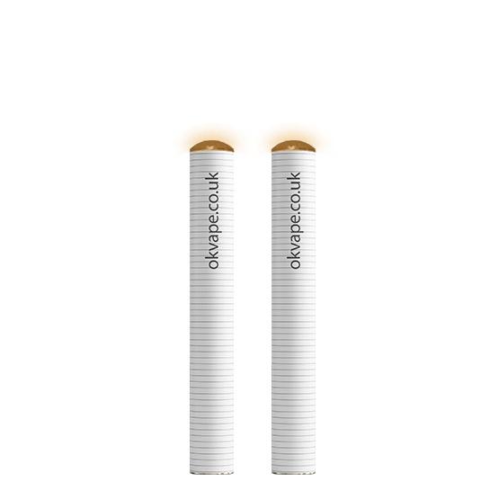 2 Pack of K1 Cigalike E-Cig Batteries