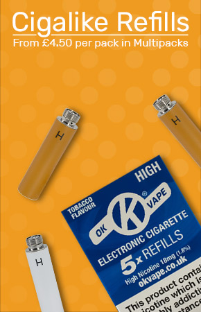 Cigalike Refills Category Graphic