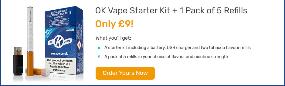 Starter Kit + a pack of 5 refills for only £9