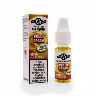 6mg 50/50 peach dream e liquid