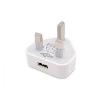 OK Vape White mains charging plug