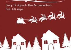 OK Vape 12 Days of Christmas Blog Preview Image