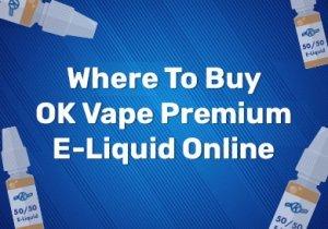 Where To Buy Morrisons OK Vape Premium E-Liquid Online